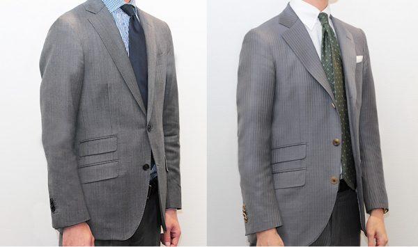 スーツのボタン   2ボタンと3ボタンどっちを選ぶ?