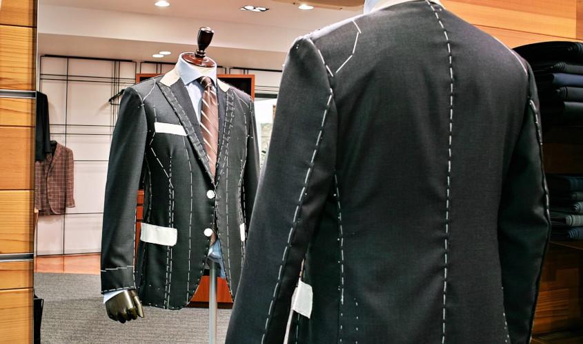 仮縫いフルオーダースーツ