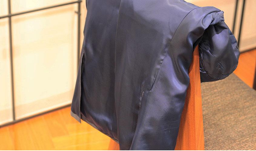 スーツの総裏のメリット