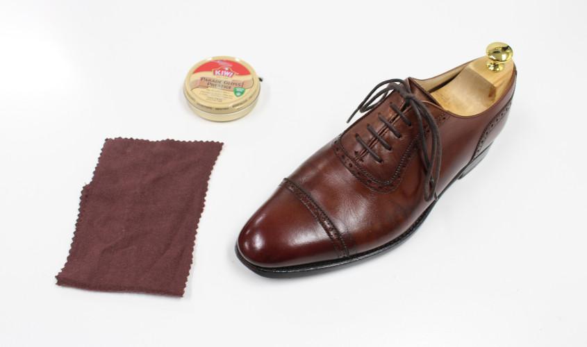 靴鏡面磨き001