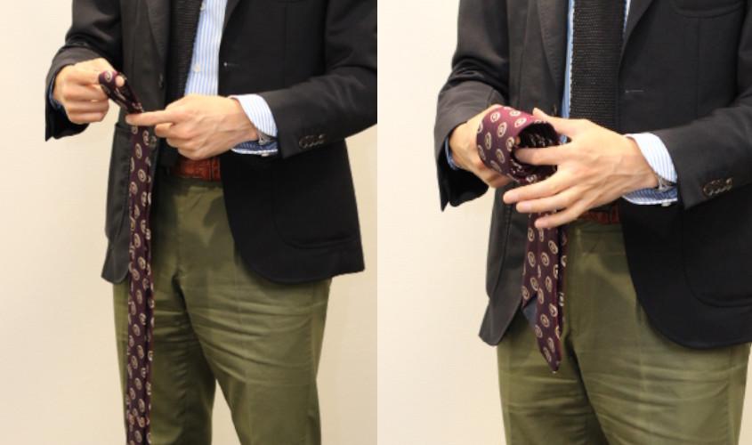 ネクタイ 巻き方