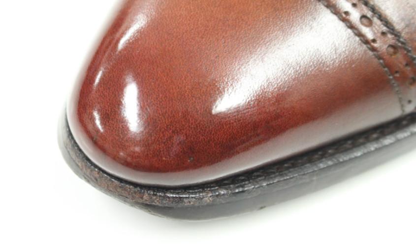 靴鏡面磨き006