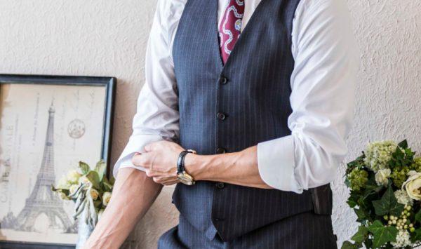 クールビズ | 半袖より長袖シャツの袖まくりがカッコいい