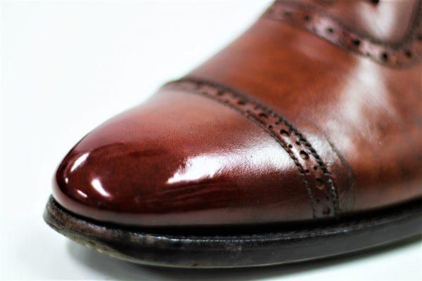 靴の手入れ上級編 |  鏡面磨きのコツはクロスの使い方