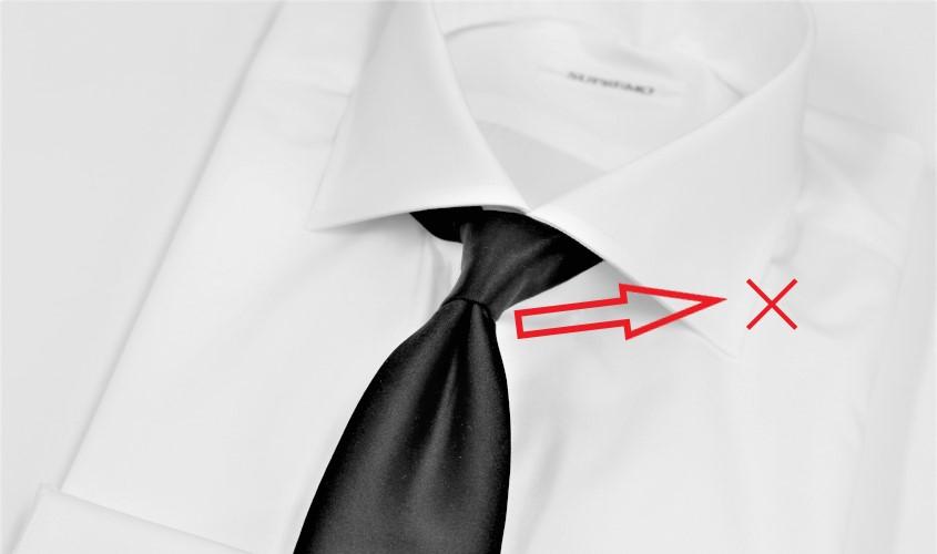お葬式用のシャツとネクタイの選び方