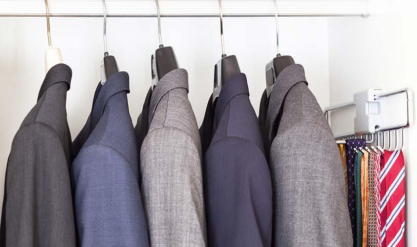 スーツのバリエーションの数を増やす