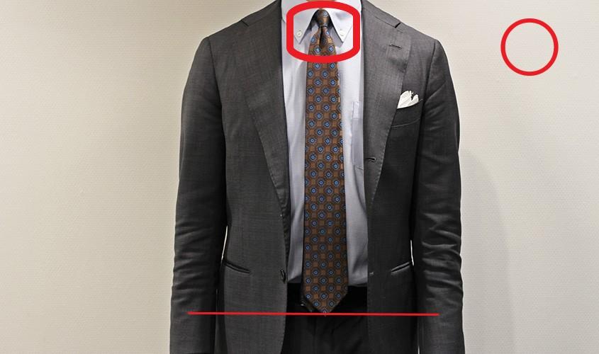正しいネクタイの結び方