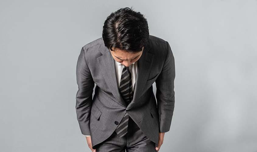 謝罪用のネクタイの色柄