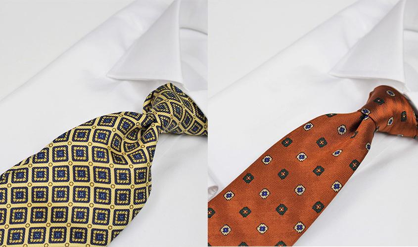 オレンジのネクタイの意味
