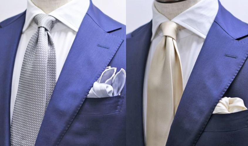 ブルースーツ結婚式のコーディネイト