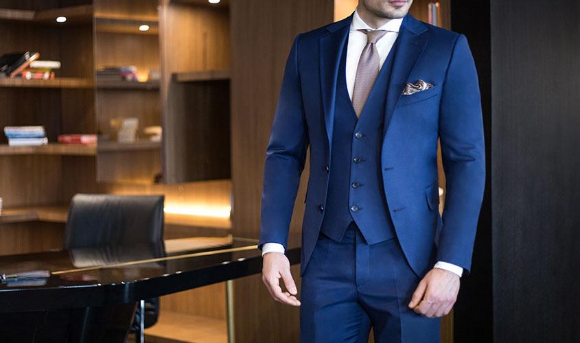 ブルースーツの印象