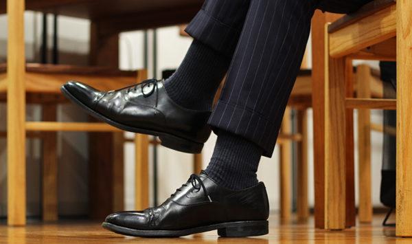 スーツの靴下は何色がいい?初級編から応用編まで